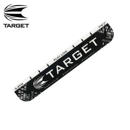 Target - 스로라인Throw Line (10cm x 58cm) - black