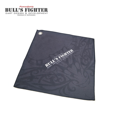 Bull's Fighter Towel - Black v2