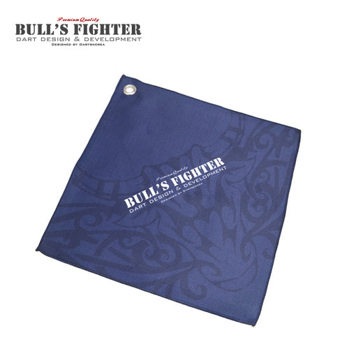 Bull's Fighter Towel - Navy v2