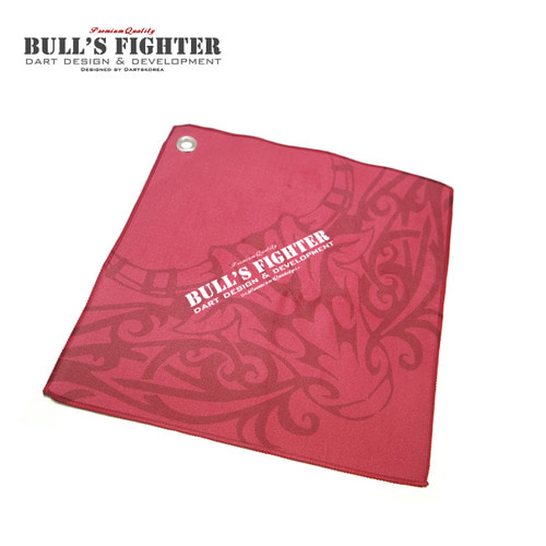 Bull's Fighter Towel - Red v2