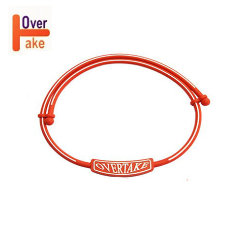 Overtake - Necklace - Red white