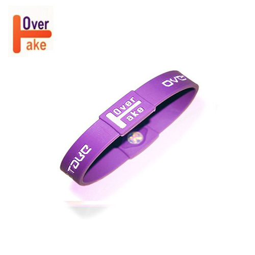 Overtake - Bracelet - Purple white