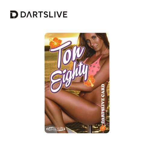 Dartslive online card - Special Pack - Ton Eighty (L Flight)