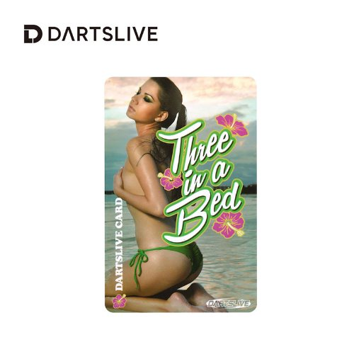 Dartslive online card - Special Pack - Three in a Bed (L Flight)