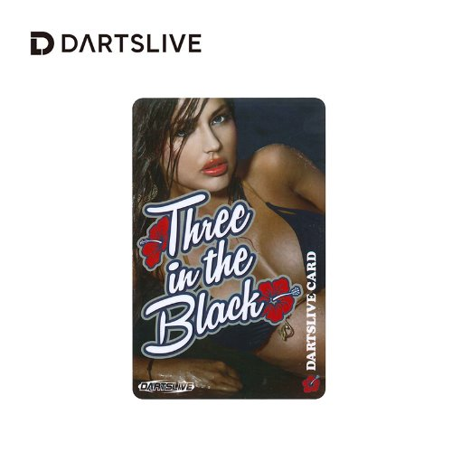 Dartslive online card - Special Pack - Three in the Black (Fit Flight)