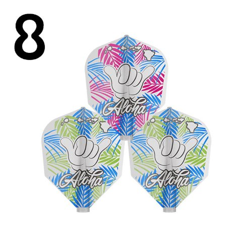 8 flight - REYN AGCAOILI CLEAR SHAPE - (3pcs)