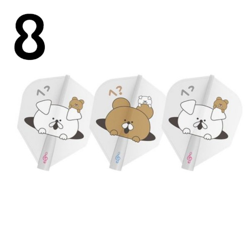 8 flight - Mao Kumagai - Shape (3pcs)