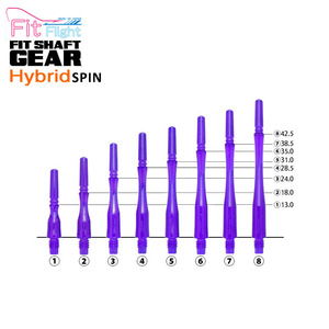 Fit Shaft - GEAR -  HYBRID - Purple