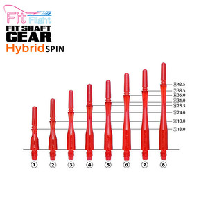 Fit Shaft - GEAR - HYBRID - Red