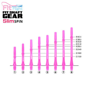 Fit Shaft - GEAR - SLIM - Clear Pink