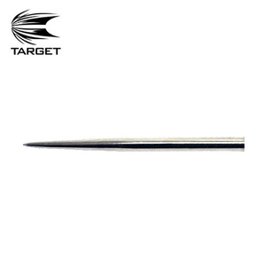 Target - Dart point - Chrome - 32mm - bagged