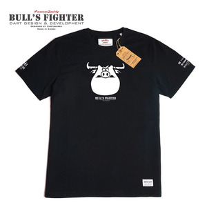 Bull's Fighter - T-shirt - Bull - Black