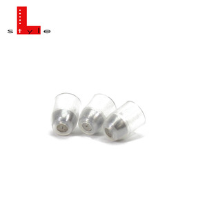 L-Style - Back Balance Champagne Ring - clear