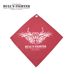 Bull's Fighter Towel - Red 2017
