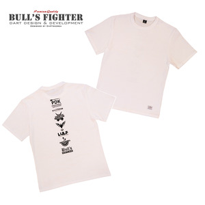 Bull's Fighter - T-shirt - White 2017