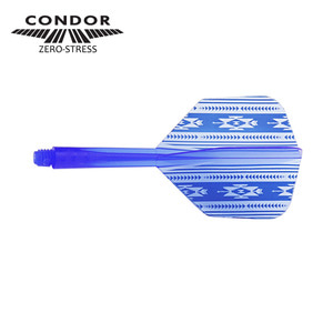 Condor - native american - Blue - small