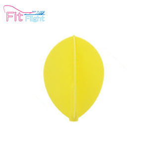 Fit Flight - Teardrop - yellow - 3pcs