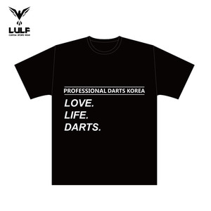 LULF - T shirt - PDK LOVE LIFE DARTS