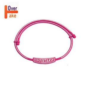 Overtake - Necklace - Hot Pink white