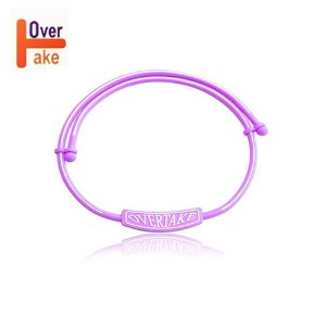 Overtake - Necklace - Purple white