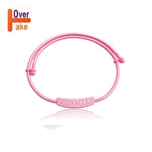 Overtake - Necklace - Pink white