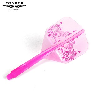 Condor - Crown - Seong Hye Lim model - small - clear pink