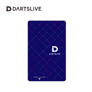 Dartslive online card -  Square - blue