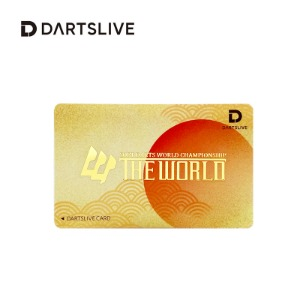 Dartslive online card - THE WORLD - Moon  한정판카드