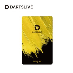 Dartslive online card - Paint - yellow