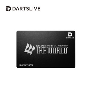 Dartslive online card - THE WORLD - black  한정판카드