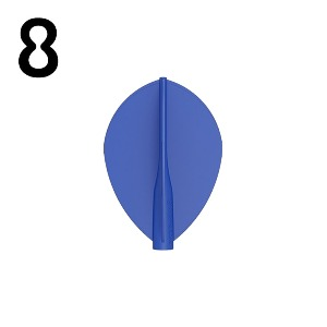 8 Flight - TEARDROP - BLUE