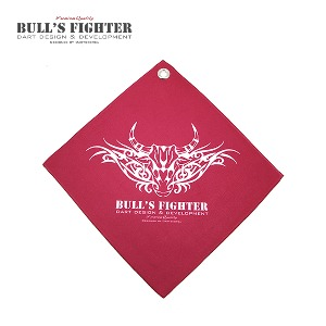 Bull's Fighter Towel - Red v3