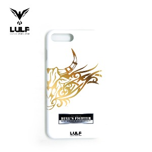 LULF - BULLS FIGHTER 유광하드 WHITE PHONE CASE - 전기종있음