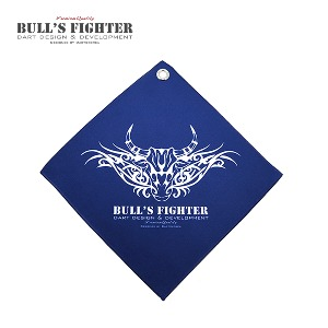 Bull's Fighter Towel - Navy v3