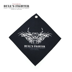 Bull's Fighter Towel - Black v3