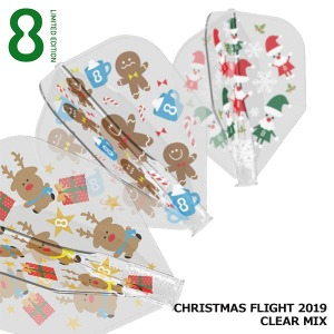 8 FLIGHT - CHRISTMAS FLIGHT 2019 CLEAR MIX 한정판