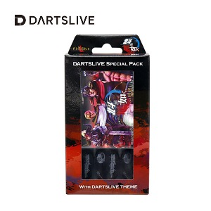 Dartslive online card - Special Pack - MIX赤 (L Flight)