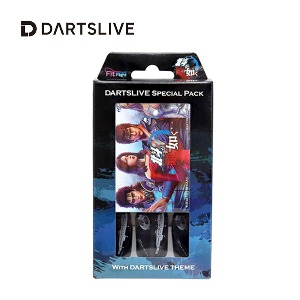 Dartslive online card - Special Pack - MIX青 (Fit Flight)