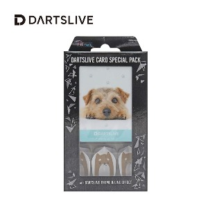 Dartslive online card - Special Pack - Dog (Fit Flight)
