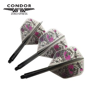 Condor - HEART - CLEAR BLACK - small