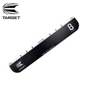 Target 타켓 - 스로라인 Throw Line 2020 (10cm x 58cm) - Black
