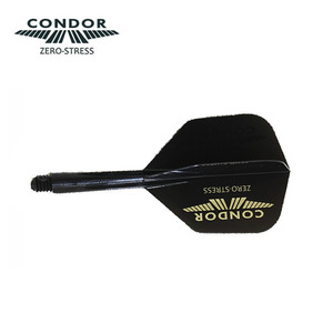 Condor logo Black (Gold) - Small