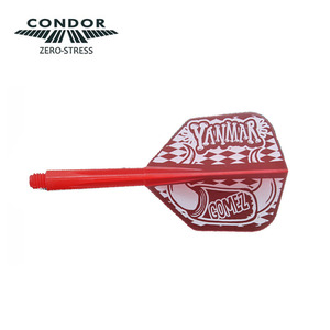Condor - Horn - clear red - small
