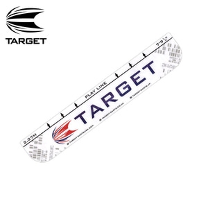 Target 타켓 - 스로라인Throw Line (10cm x 58cm) - white