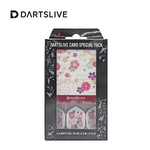 Dartslive online card - Special Pack - Sakura (L Flight)
