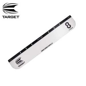 Target 타켓 - 스로라인 Throw Line 2020 (10cm x 58cm) - white