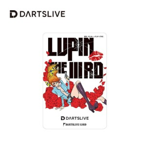 Dartslive online card - Lupin The ⅢRD #3